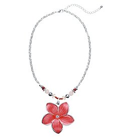 Studio Works®  Enameled Flower Pendant