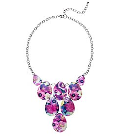Studio Works® Printed Shell Frontal Necklace