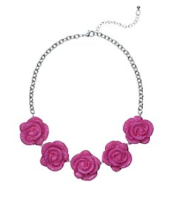 Studio Works® Frontal Fave Flower Necklace