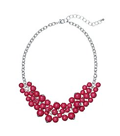 Studio Works® Pink Beaded Shaky Necklace