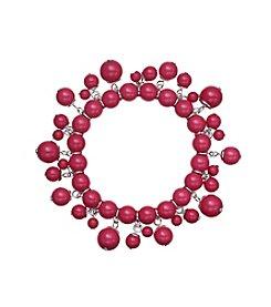 Studio Works® Pink Single Row Beaded Shaky Bracelet