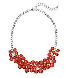 Studio Works® Orange Beaded Shaky Necklace