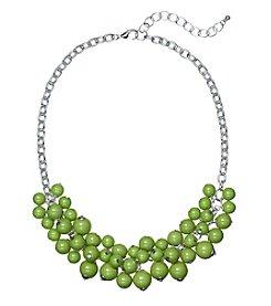 Studio Works® Green Beaded Shaky Necklace