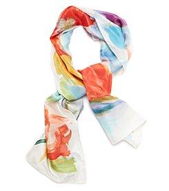 Lauren Ralph Lauren® Samantha Tulip Silk Oblong Scarf