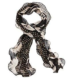 Ralph Lauren Cara Floral Dot Wrap