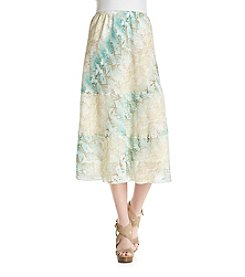 Alfred Dunner® Python Tiered Skirt