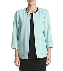 Alfred Dunner® Jewel Neck Jacket