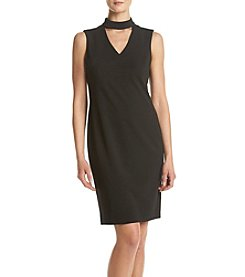 Calvin Klein Keyhole Shift Dress