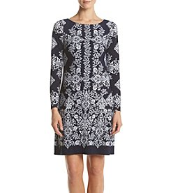 Vince Camuto® Border Knit Dress