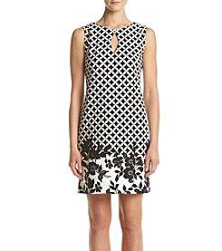 Gabby Skye® Border Dress