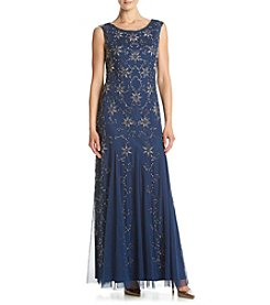 Adrianna Papell® Beaded Long Dress
