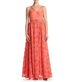 Adrianna Papell® Tulle Chiffon Dress