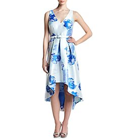 Eliza J® Floral High-Low Dress