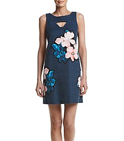 Taylor Dresses Floral Sheath Dress