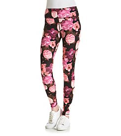 Betsey Johnson® Dramatic Floral Print Leggings
