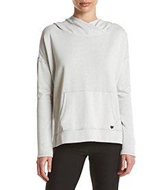 Betsey Johnson Performance® Fleece Split Hem Hoodie