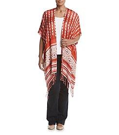 Ruff Hewn Plus Size Jacquard Kimono