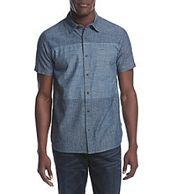 Hybrid™ Men's Mishak Crosshatched Chambray Shirt