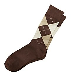 Kenneth Roberts Men's Argyle Dress Socks