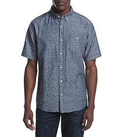 Weatherproof Vintage® Men's Short Sleeve Linen Woven Button Down