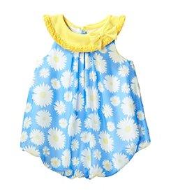 Cuddle Bear® Baby Girls' Daisy Bubble Romper