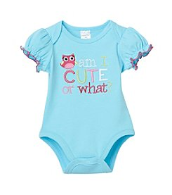 Cuddle Bear® Baby Girls' Am I Cute Creeper