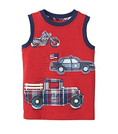 Mix & Match Boys' 2T-4T Car Truck Sleeveless Muscle Tee