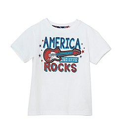 Mix & Match Boys' America Rocks Short Sleeve Graphic Tee