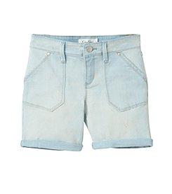 Jessica Simpson Girls' 7-16 Bermuda Roll Shorts