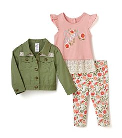 Nannette® Baby Girls' Jacket & Leggings Set