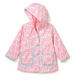 Carter's® Girls' 2T-6X Light Weight Pink Poodles Jacket