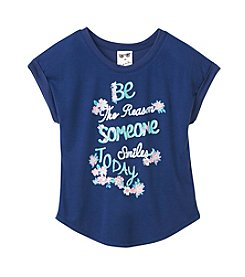 Belle du Jour Girls' 7-16 Smile Today Top
