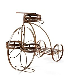 LivingQuarters Botanical Bicycle Plant Holder