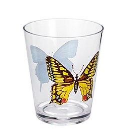 LivingQuarters English Garden Double Old Fashioned Glass