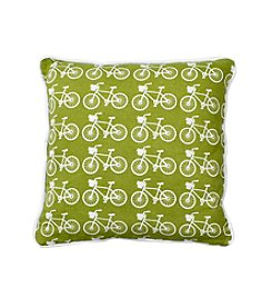LivingQuarters English Garden Bike Pillow