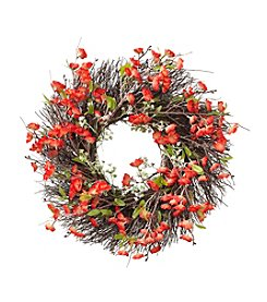 LivingQuarters Botanical Cherry Blossom Wreath