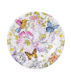 LivingQuarters English Garden Dinner Plate