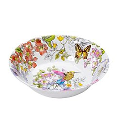 LivingQuarters Botanical Small Bowl