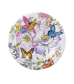 LivingQuarters English Garden Appetizer Plate