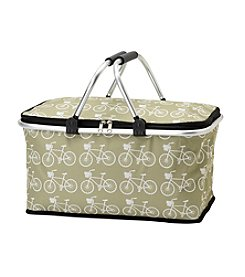 LivingQuarters Botanical Bicycle Tote