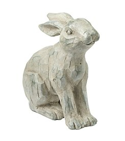 LivingQuarters English Garden Large Garden Bunny