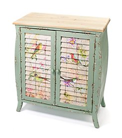 LivingQuarters English Garden Shutter Door Dresser