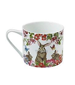 LivingQuarters Easter Cappuccino Mug