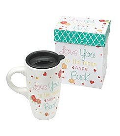 LivingQuarters Love You To The Moon And Back Latte Mug