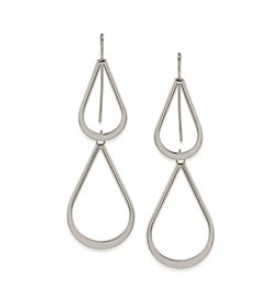 Lauren Ralph Lauren All The Small Things Double Teardrop Pierced Earrings