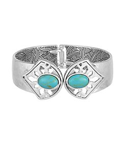 The Sak® Stone Hinge Cuff Bracelet