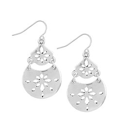 The Sak® Pierced Double Drop Earring