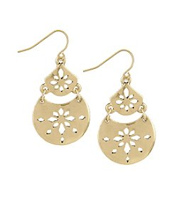 The Sak® Pierced Double Drop Earrings