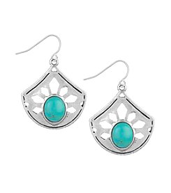 The Sak® Pierced Stone Drop Earring
