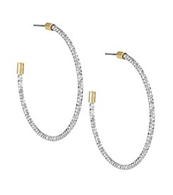 The Sak® Large Texture Hoop Earring
